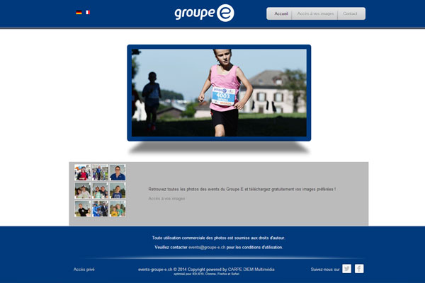 Events Groupe E